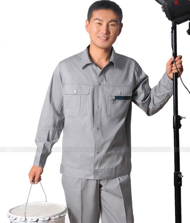Dong phuc cong nhan GLU CN580 đồng phục công nhân kĩ thuật