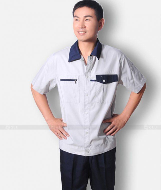 Dong phuc cong nhan GLU CN581 đồng phục công nhân kĩ thuật