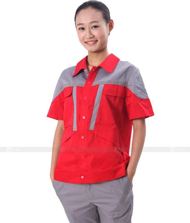 Dong phuc cong nhan GLU CN582 đồng phục công nhân kĩ thuật