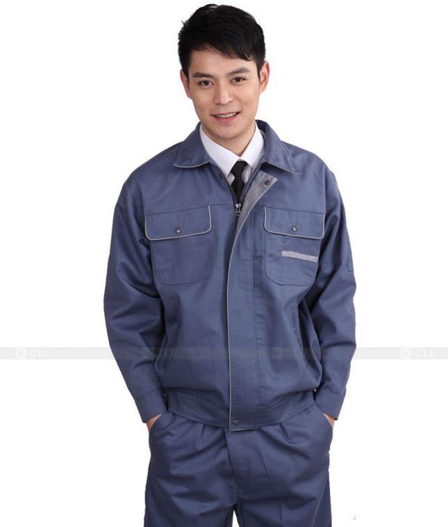 Dong phuc cong nhan GLU CN584 đồng phục công nhân kĩ thuật