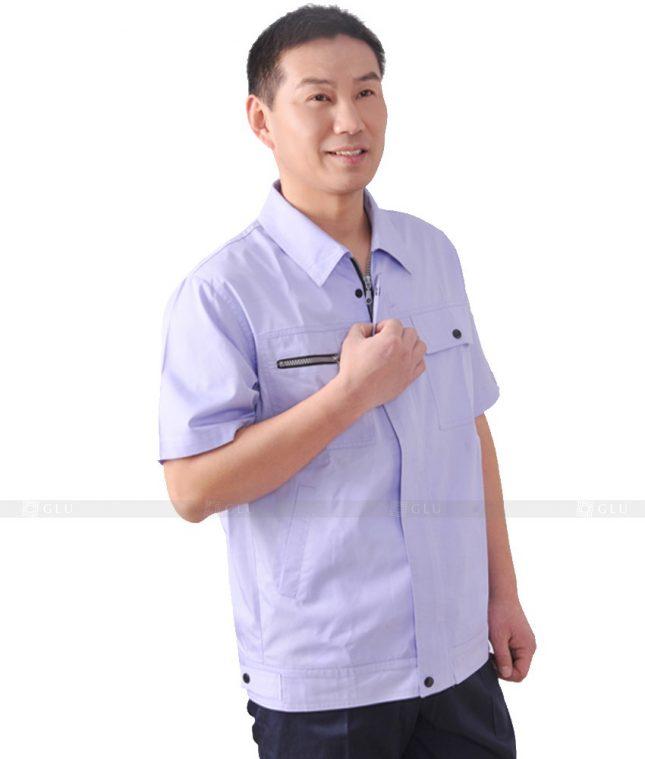 Dong phuc cong nhan GLU CN586 đồng phục công nhân kĩ thuật