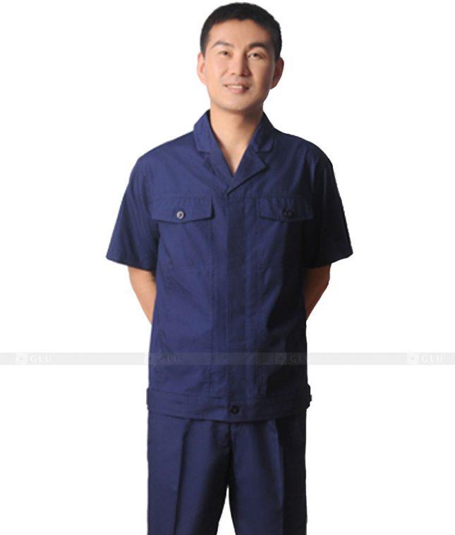 Dong phuc cong nhan GLU CN588 đồng phục công nhân kĩ thuật