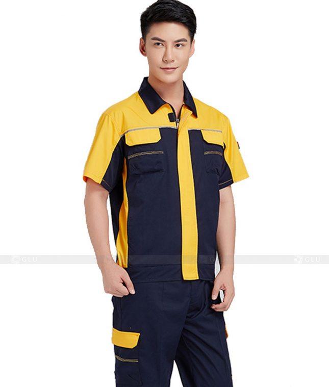 Dong phuc cong nhan GLU CN589 đồng phục công nhân kĩ thuật