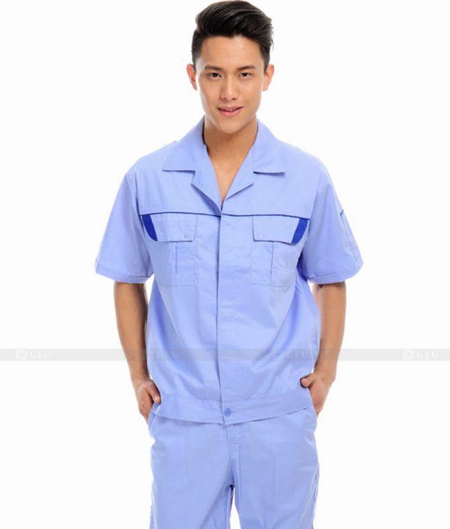 Dong phuc cong nhan GLU CN590 đồng phục công nhân kĩ thuật