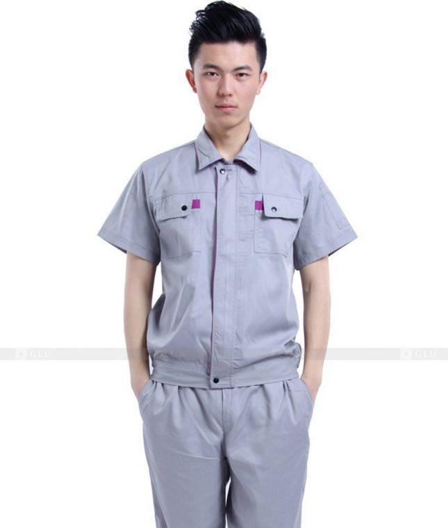Dong phuc cong nhan GLU CN591 đồng phục công nhân kĩ thuật