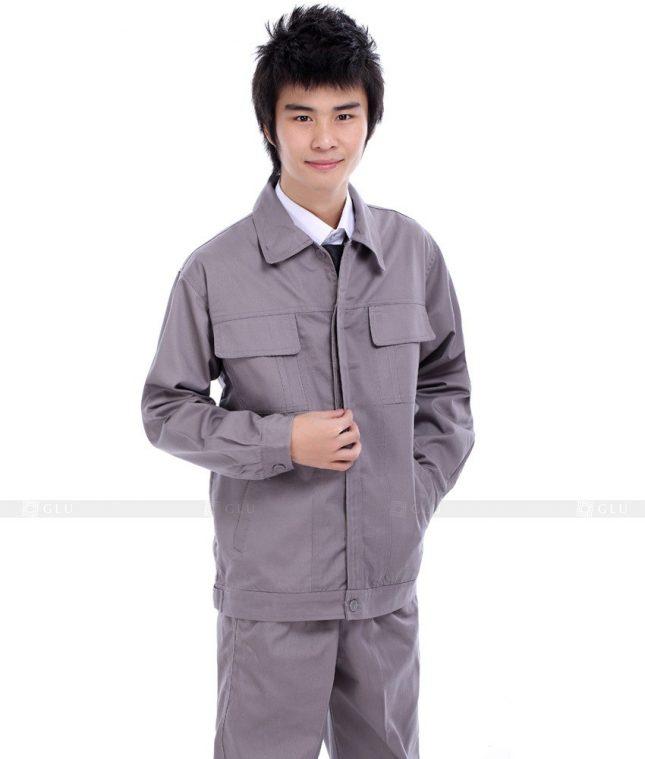 Dong phuc cong nhan GLU CN592 đồng phục công nhân kĩ thuật