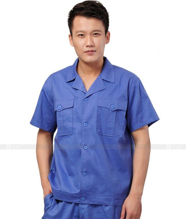 Dong phuc cong nhan GLU CN593 đồng phục công nhân kĩ thuật
