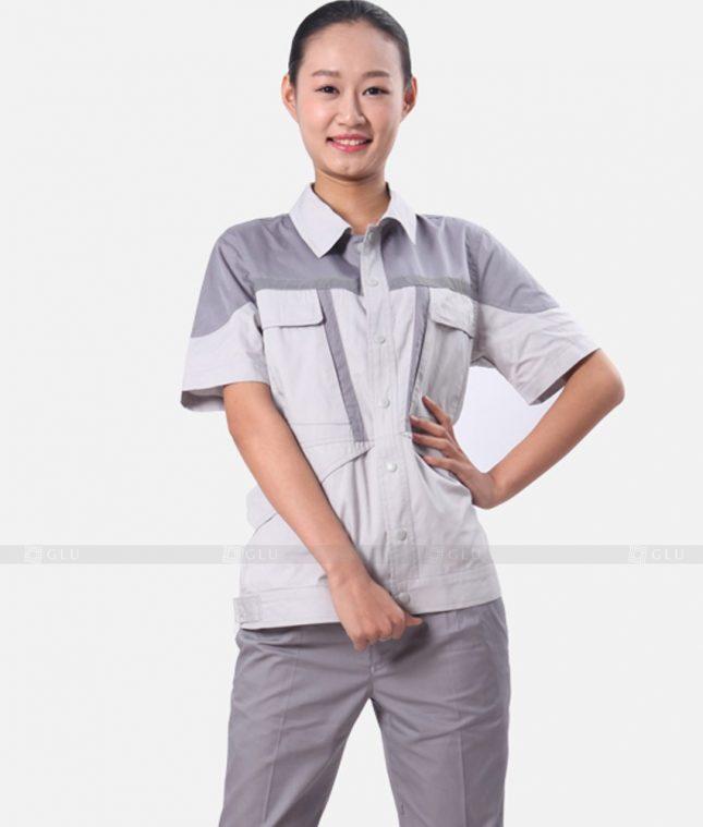 Dong phuc cong nhan GLU CN595 đồng phục công nhân kĩ thuật