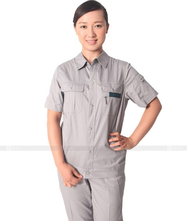 Dong phuc cong nhan GLU CN598 đồng phục công nhân kĩ thuật