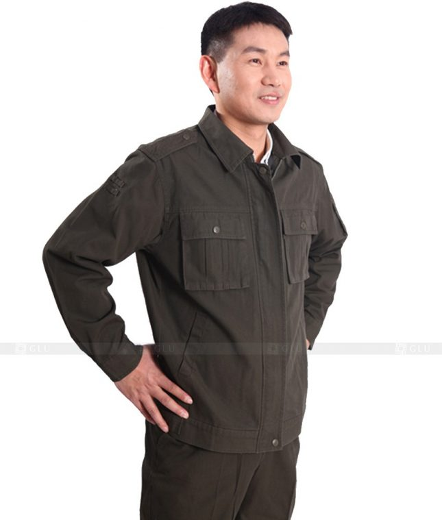 Dong phuc cong nhan GLU CN600 đồng phục công nhân kĩ thuật