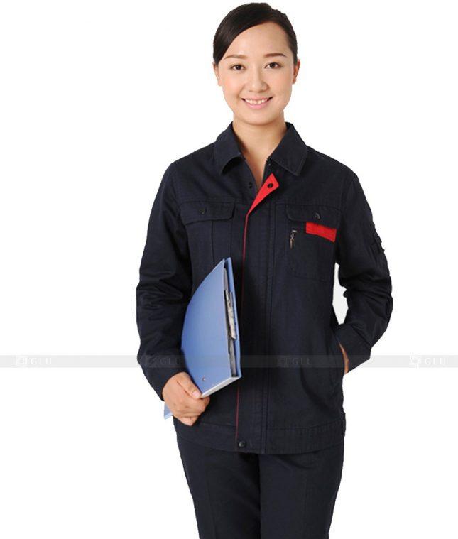 Dong phuc cong nhan GLU CN601 đồng phục công nhân kỹ thuật