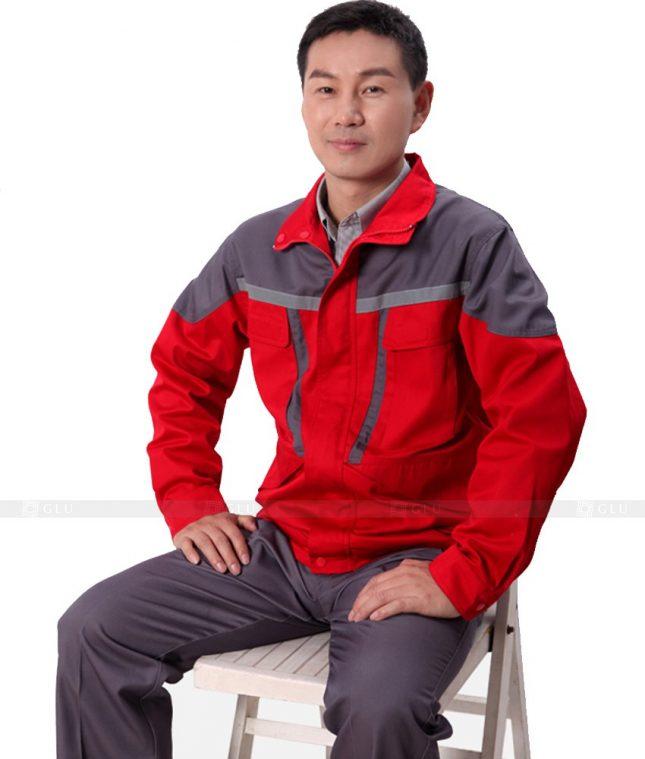 Dong phuc cong nhan GLU CN608 mẫu áo công nhân