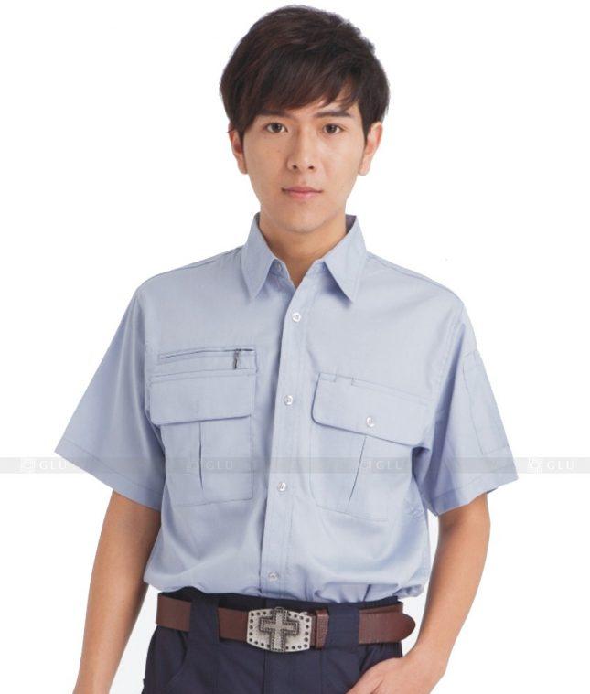 Dong phuc cong nhan GLU CN609 mẫu áo công nhân