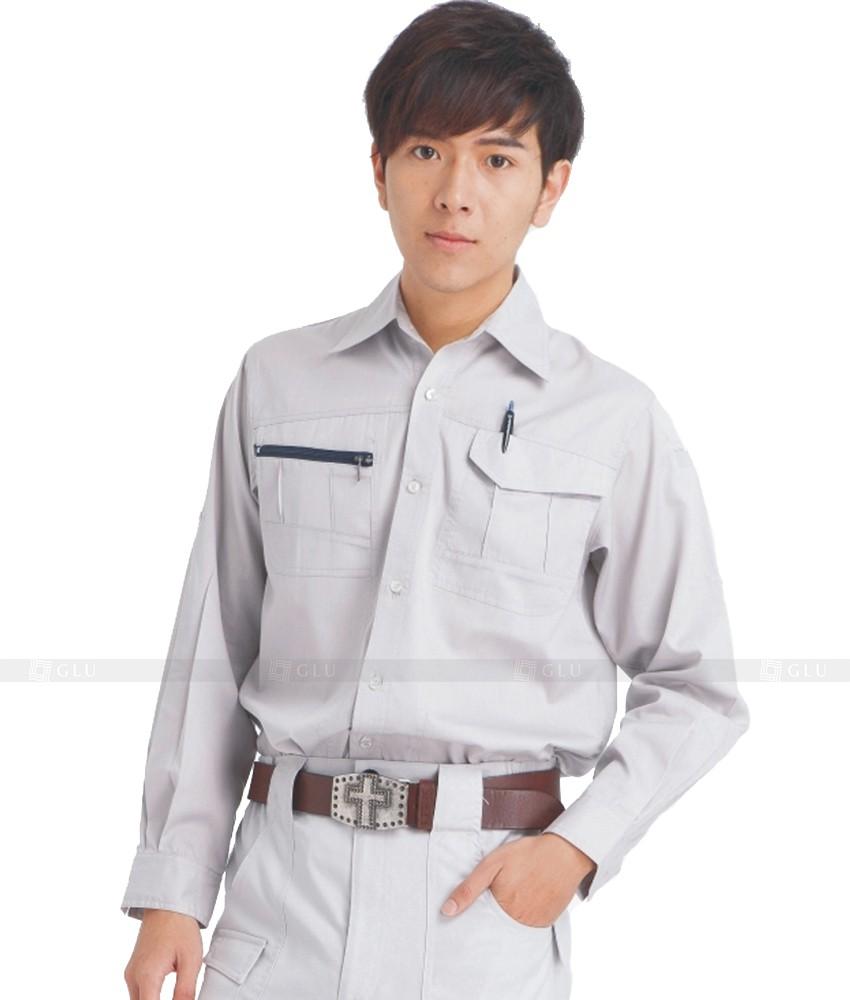 Dong phuc cong nhan GLU CN611