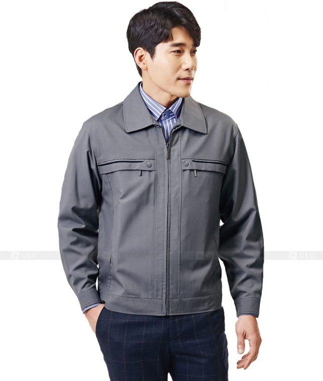 Dong phuc cong nhan GLU CN616 mẫu áo công nhân