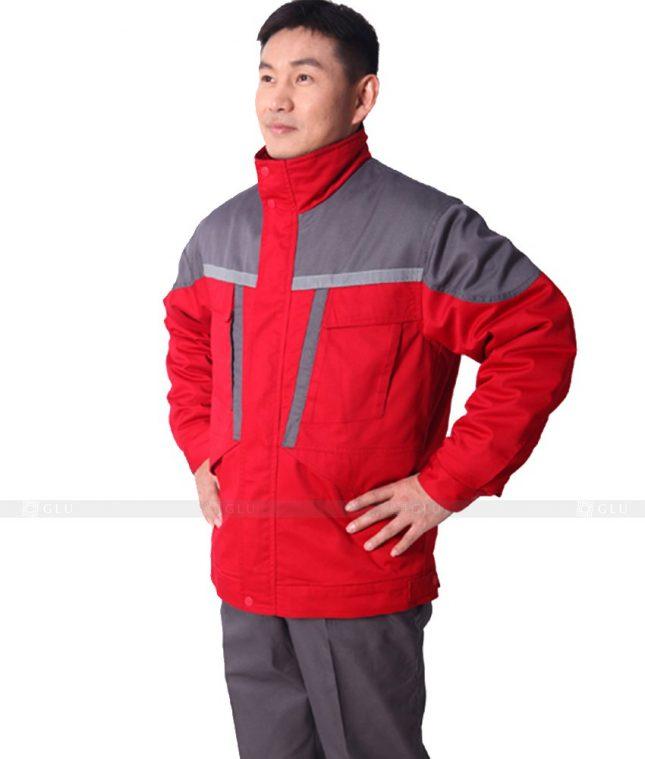 Dong phuc cong nhan GLU CN618 mẫu áo công nhân