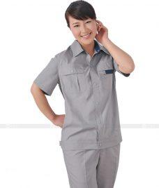 Dong phuc cong nhan GLU CN620 đồng phục công nhân