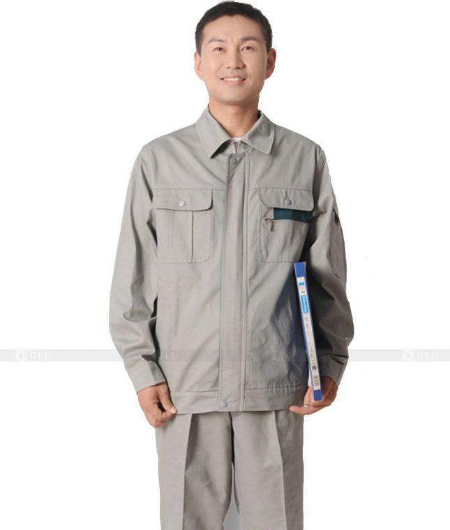 Dong phuc cong nhan GLU CN621 mẫu áo công nhân