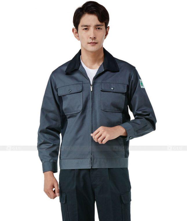 Dong phuc cong nhan GLU CN622 mẫu áo công nhân