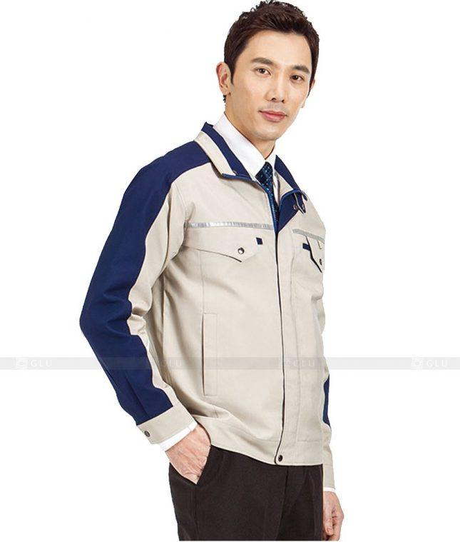 Dong phuc cong nhan GLU CN623 mẫu áo công nhân