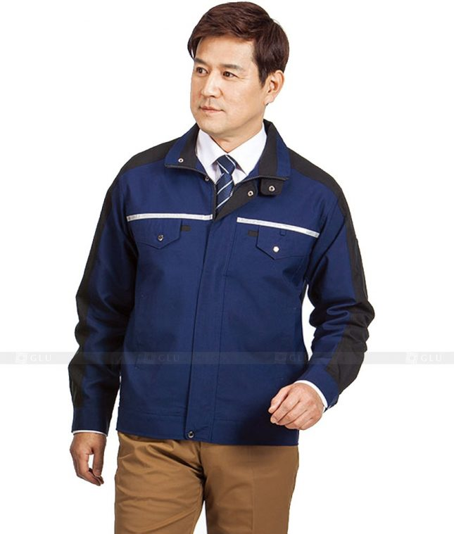Dong phuc cong nhan GLU CN624 mẫu áo công nhân