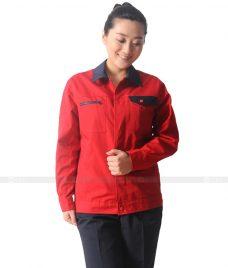 Dong phuc cong nhan GLU CN625 đồng phục công nhân