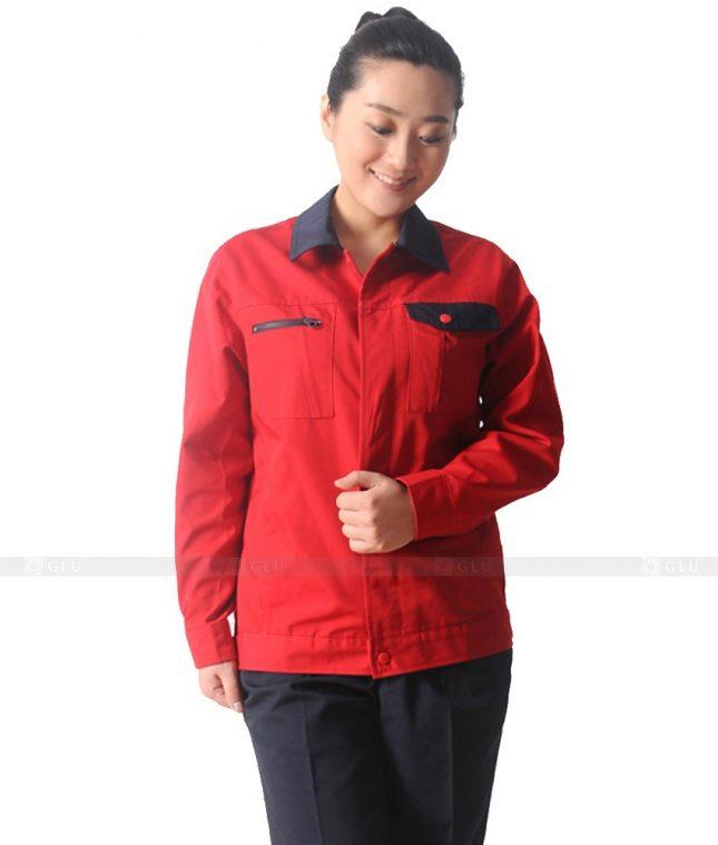 Dong phuc cong nhan GLU CN625 mẫu áo công nhân