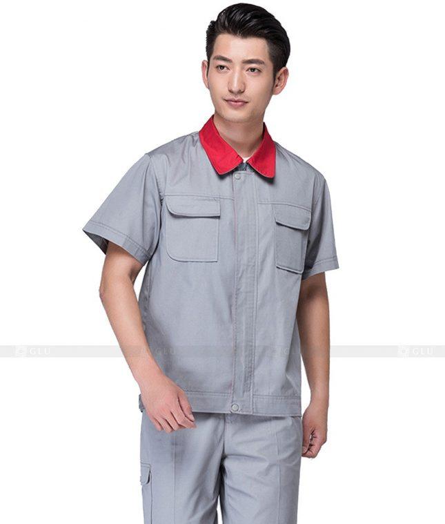 Dong phuc cong nhan GLU CN626 mẫu áo công nhân