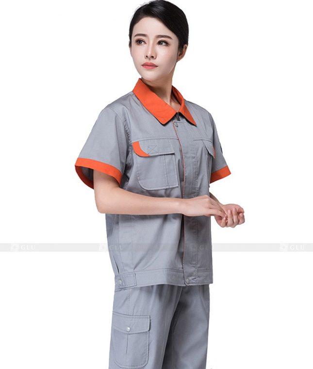 Dong phuc cong nhan GLU CN627 mẫu áo công nhân