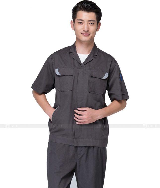 Dong phuc cong nhan GLU CN628 mẫu áo công nhân