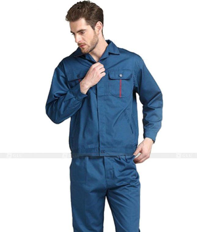 Dong phuc cong nhan GLU CN629 mẫu áo công nhân
