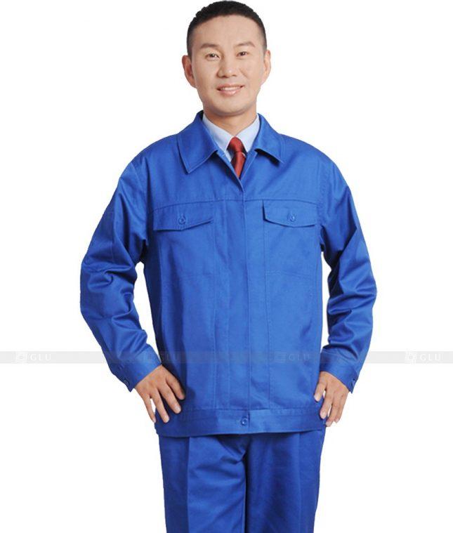 Dong phuc cong nhan GLU CN630 mẫu áo công nhân