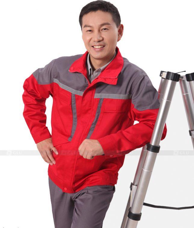 Dong phuc cong nhan GLU CN632 mẫu áo công nhân