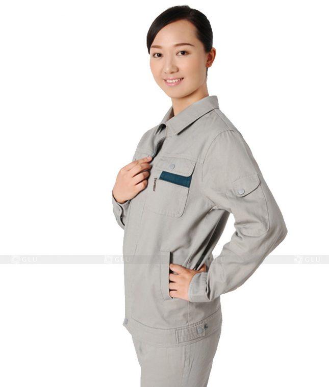 Dong phuc cong nhan GLU CN633 mẫu áo công nhân