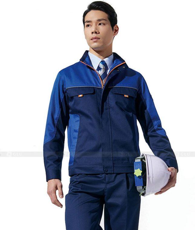 Dong phuc cong nhan GLU CN634 mẫu áo công nhân