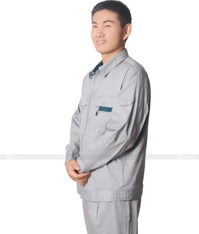 Dong phuc cong nhan GLU CN635 mẫu áo công nhân