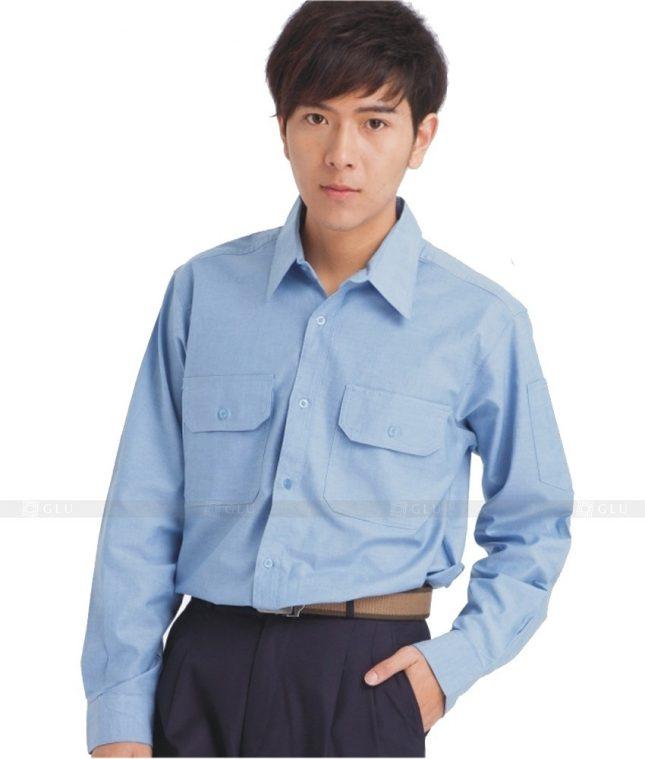 Dong phuc cong nhan GLU CN638 mẫu áo công nhân
