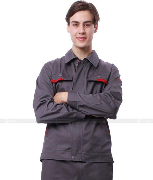 Dong phuc cong nhan GLU CN640 mẫu áo công nhân