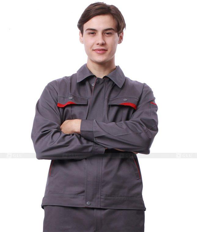 Dong phuc cong nhan GLU CN641 mẫu áo công nhân