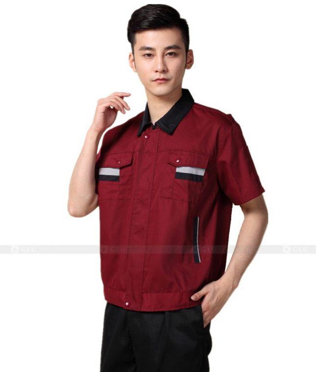 Dong phuc cong nhan GLU CN644 mẫu áo công nhân