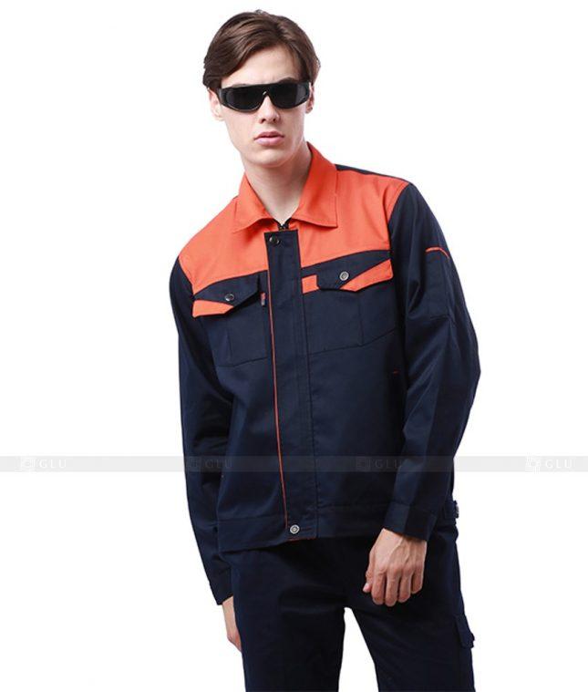 Dong phuc cong nhan GLU CN646 mẫu áo công nhân