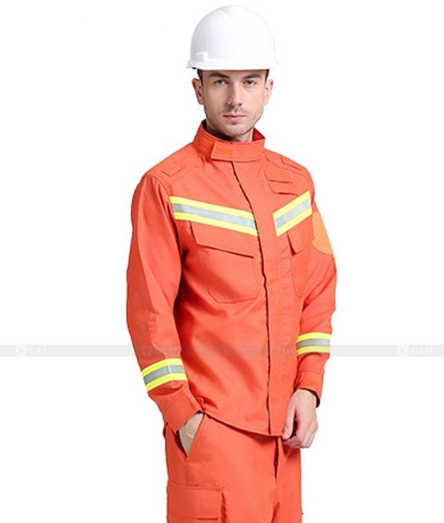 Dong phuc cong nhan GLU CN647 mẫu áo công nhân