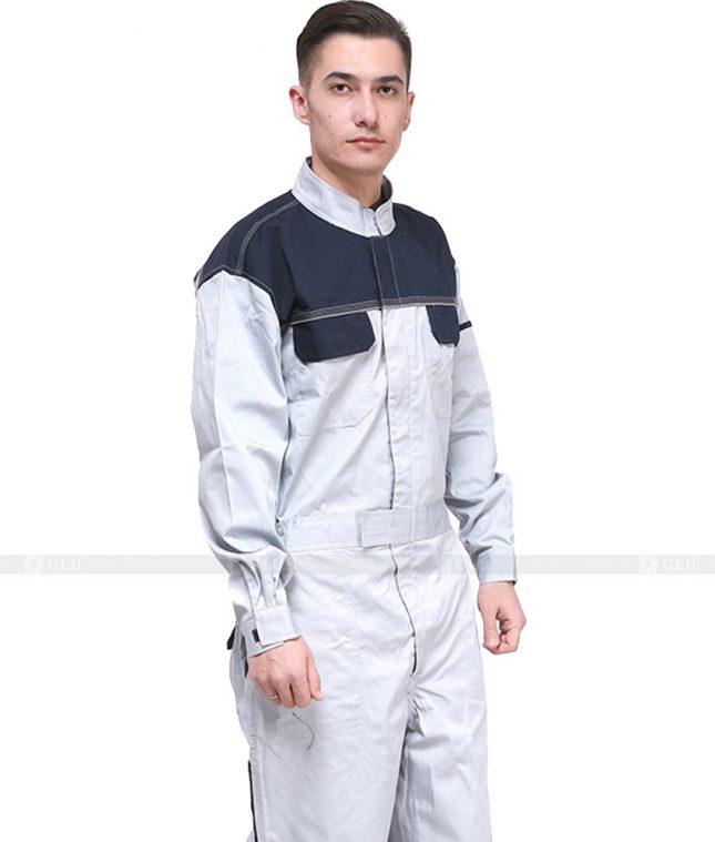 Dong phuc cong nhan GLU CN648 mẫu áo công nhân