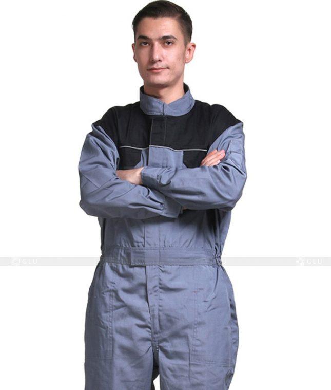 Dong phuc cong nhan GLU CN649 mẫu áo công nhân