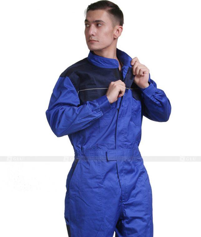 Dong phuc cong nhan GLU CN650 mẫu áo công nhân
