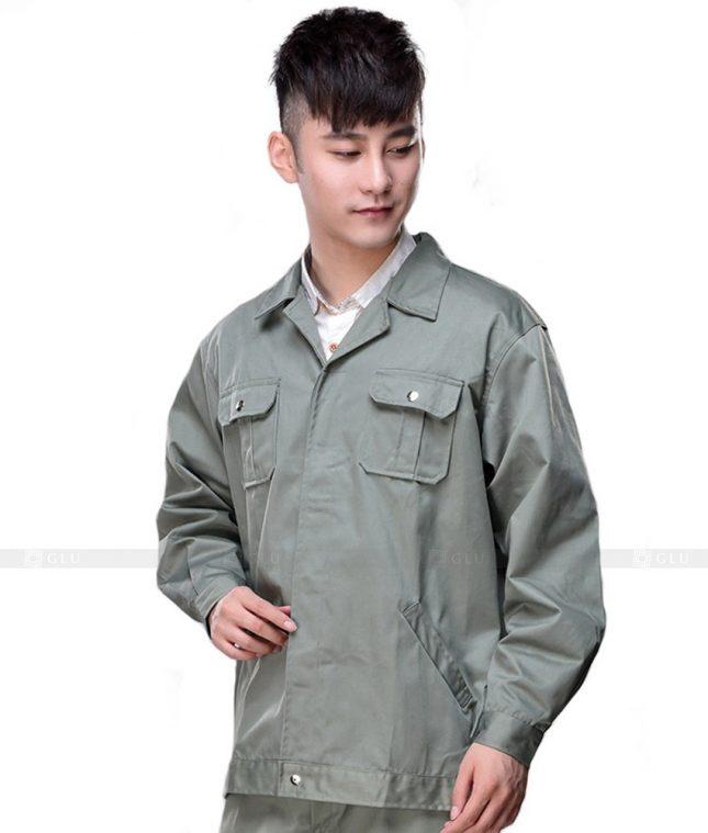 Dong phuc cong nhan GLU CN654 mẫu áo công nhân