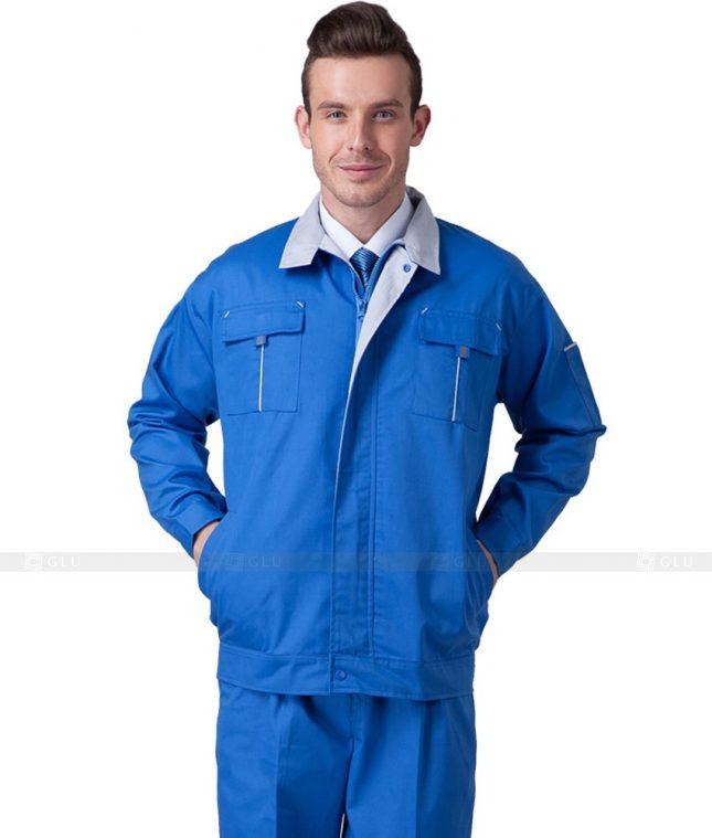 Dong phuc cong nhan GLU CN656 mẫu áo công nhân