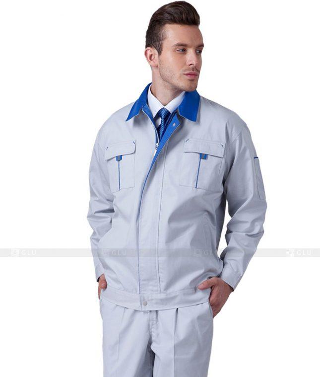 Dong phuc cong nhan GLU CN657 mẫu áo công nhân