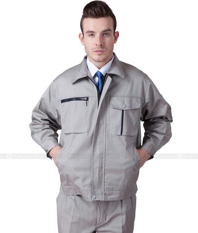 Dong phuc cong nhan GLU CN658 mẫu áo công nhân