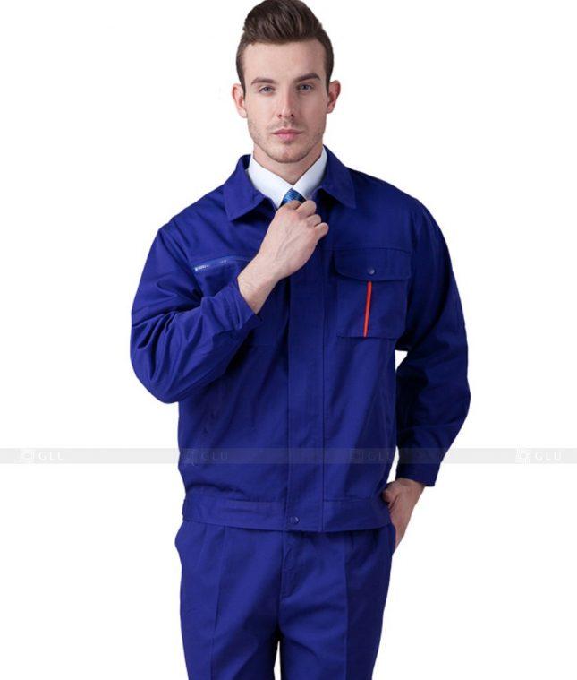Dong phuc cong nhan GLU CN659 mẫu áo công nhân